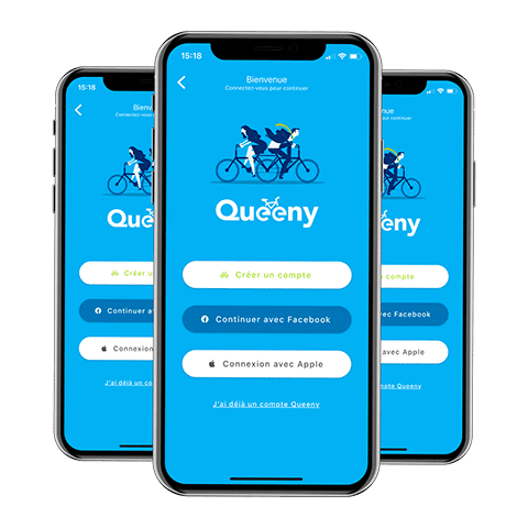 Télécharger notre application Queeny